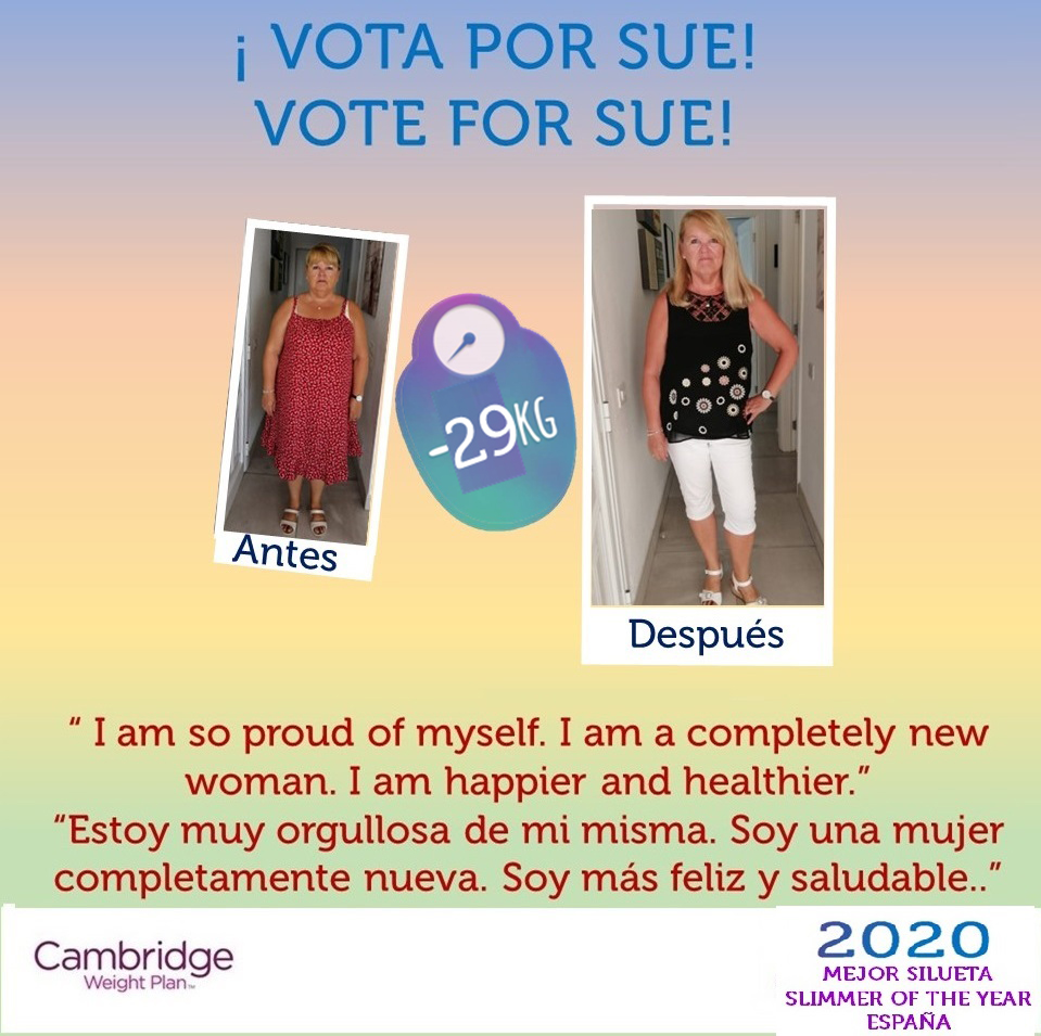 Susan Heeley Weight Loss Story with Cambridge Weight Plan